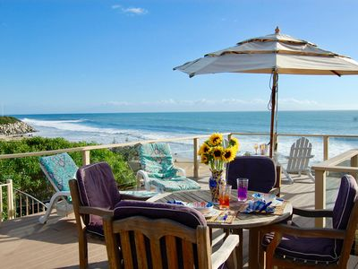 Photo for Perfect Family beach house-Just STEPS from the sand, Awesome views!