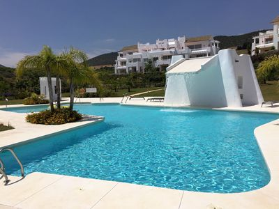 Photo for LUXURY EXCLUSIVE APARTMENT IN ALCAZABA LAGOON - CASARES, ESTEPONA GOLF SLEEPS 4