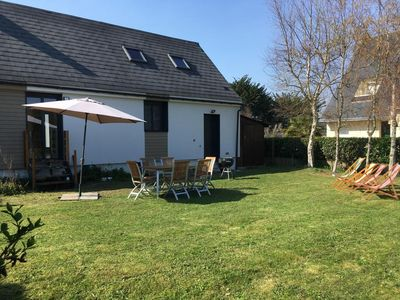 Photo for Holiday house with beautiful garden Pouliguen 85m square