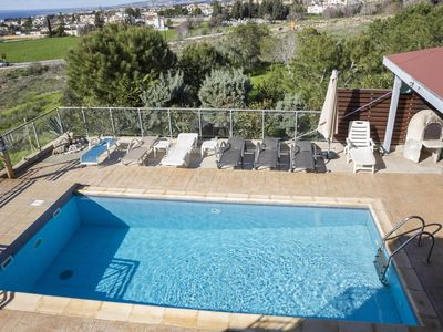 Photo for Villa Panikos, Paphos (with private pool and seaview)