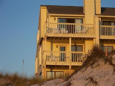 Photo for ***Beach front, end unit, Best View !