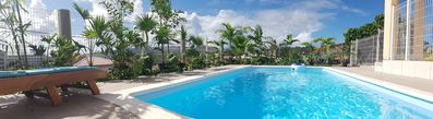 Photo for RISING SUN VILLA, AIR CONDITIONED, WIFI, (PRIVATE POOL AND JACUZZI OPTIONAL)
