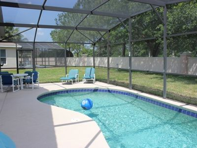 Photo for GREAT RATES!!    4 BR / 2 BA Villa w/ private pool, game room, free WiFi