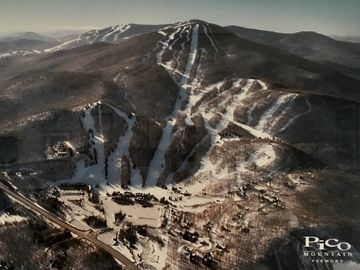 Golden Express Quad, Killington, Vermont, Estados Unidos