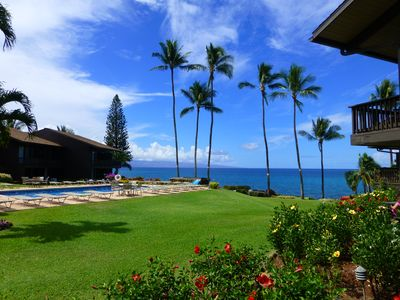 Photo for Spectacular View of the Ocean with the Islands of Lanai and Molokai