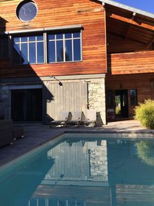 Photo for Exceptional chalet 8 to 10 people magnificent view on the Pyrenees