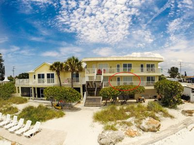Photo for Beach Front Living on Anna Maria Island