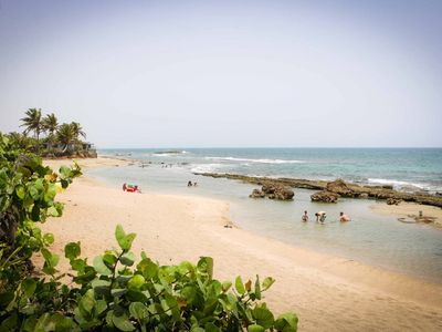 Photo for Beach front property in Barceloneta, one hour drive North West of San Juan, PR.