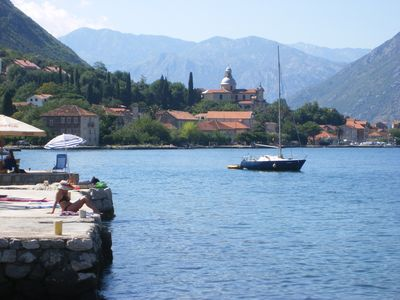 TWO BED APT WITH POOL IN PRCANJ, KOTOR, STUNNING VIEWS, MINUTES FROM WATERFRONT