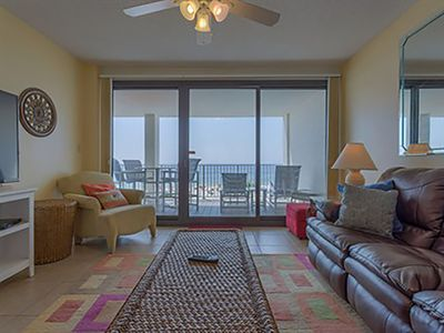 Photo for Huge Beachfront Balcony! Great for Families! Located close to area attractions!