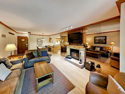 Living Area - Welcome to Park City! This cozy condo is professionally managed by TurnKey Vacation Rentals.