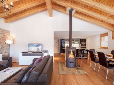 Photo for Nepomuk: Luxury 5Star Chalet includes 3 apartments with heated outdoor-pool