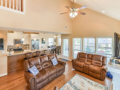 Photo for Beachside Home with Gulf View & Pool Access