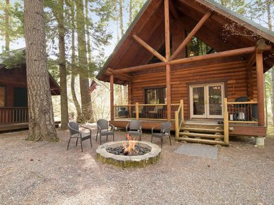 Cabin in the Woods w/ Fire Pit_4th Nt FREE_Foosball Table_Pet-Friendly_Wi-Fi