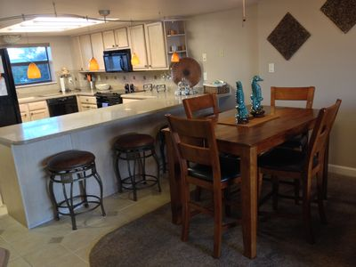 Dining Area and Kitchen (can expand table to comfortably seat 6)