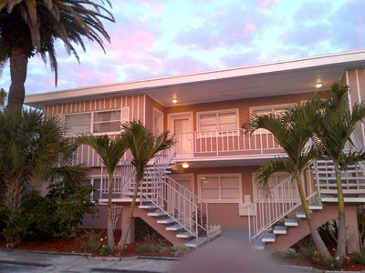 Photo for Perfect Location! Directly across the street from the semi private beach !