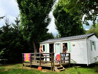 Photo for Camping Vallon Rouge *** - Mobile Home 3 Rooms 4 People