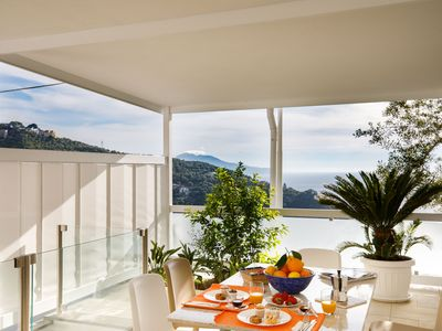 Photo for Apartment with Sea View in Massa Lubrense - Sea View Apartment