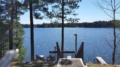 Photo for Quiet Condo on the lake.  Walk to downtown Minocqua for shops and restaurants