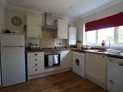 Photo for Jasmine Cottage, 3 Bedroom, family friendly, 10 mins Walk to Beach, Large Garden