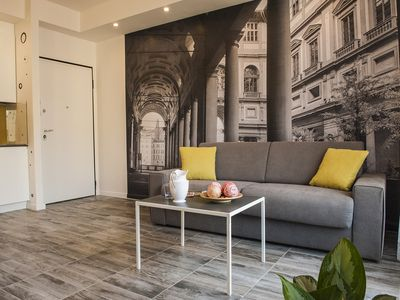 Photo for Modern and refined apartment in a historic building