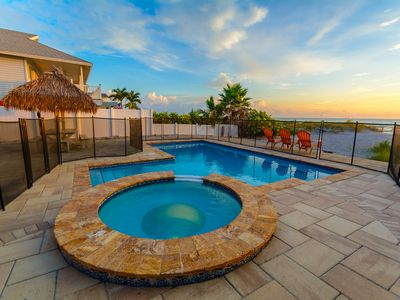 Photo for Gulf Front Beach House with Private Pool -Sunshine's Hideaway by Beach Time Rentals