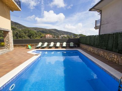 Photo for Catalunya Casas: Villa Sant Iscle in Costa Maresme, only 15 minutes to the beach!