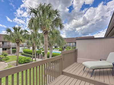 Photo for NEW! Updated Resort Condo - Walk to Myrtle Beach!