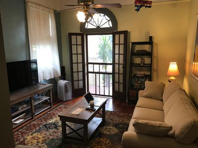 Photo for Peaceful Getaway In The Bywater- 2 Bedroom, 2 Bath