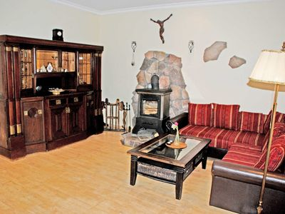 Photo for Apartment Jasmund with fireplace - apartments in the manor house Gnies