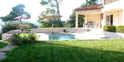 Photo for CONTEMPORARY VILLA WITH SWIMMING POOL AND PANORAMIC VIEW