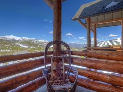 Photo for Breathtaking Views/Private Hot Tub/Moonlight Club/Hiking/Pool/Ski-in/Ski-out