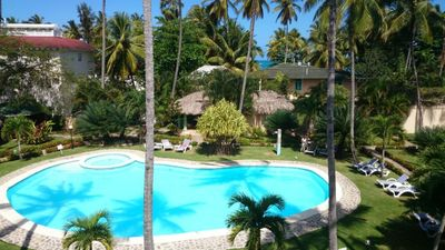Sea Front Apartment - 50m beach -  3 Bedrooms A/C - 2 Bathrooms -  Pool - Center - WIFI