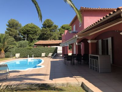 Photo for VILLA CLASSEE 4 **** + STUDIO WITH SWIMMING POOL AND MEDITERRANEAN GARDEN - CLASS 4 ****