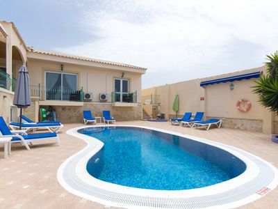 Photo for Luxury five bedroom villa with superb sea views in Callao Salvaje, Tenerife