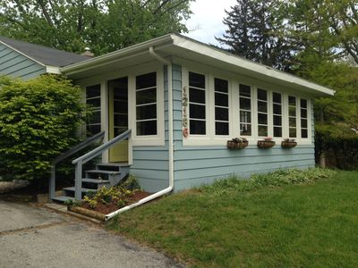 Photo for Charming Updated Sawyer Dune Cottage, Walk to Private Beach + Warren Dunes