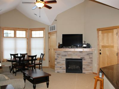 Photo for Two Bedroom Loft Luxury Condo at Northernaire Resort