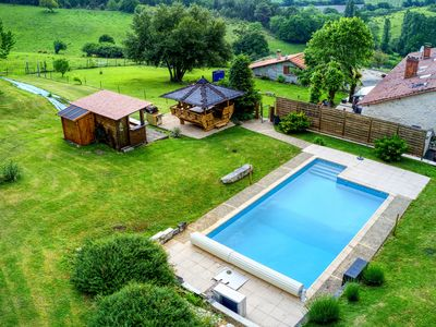 Photo for Charming House 12 people with heated pool + balneo area