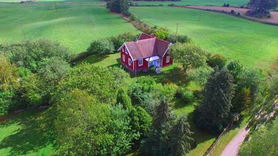 Photo for Stylish farmhouse with large garden and great play barn near the Baltic Sea
