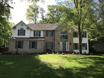 Classy Notre Dame weekend rental with 4 bedrooms in a beautiful Granger subdivison easy access to...