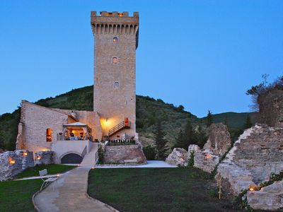 Photo for ANTICA ROCCA - Five Bedroom Castle, Sleeps 12
