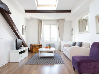 Photo for COSY 1 BR FLAT IN LE MARAIS, STEPS TO POMPIDOU CENTER