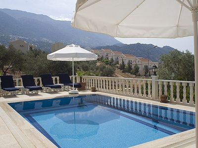 Photo for Luxury villa within easy walking distance from Kalkan center. Free WiFi