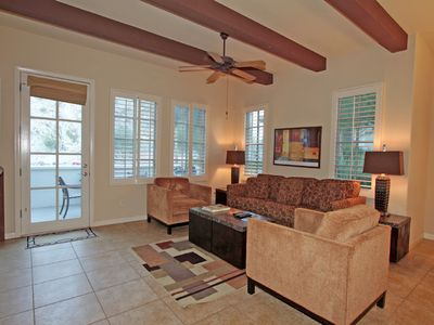 Photo for Beautiful Townhouse, backs up to the mountain with private garage LQ133