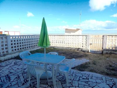 Photo for M93 - Marcelli, three-room apartment on the beach with garden