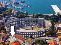 Great apartment close to all the main parts of Pula