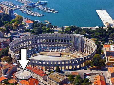Photo for Apartment is in center of Pula, just next to amphitheater- close to all events!!