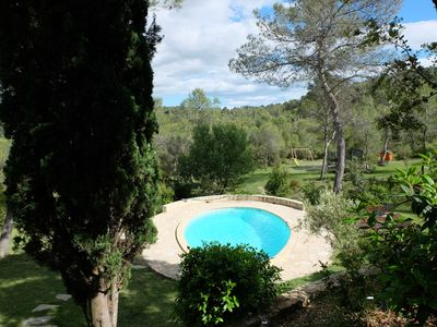 Photo for Near Montpellier Mas Heated Pool 2 hectares (reduced / discounted group)