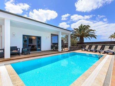 Photo for Modern Villa Close to Beach with Pool, Sauna, Jacuzzi, Terrace, Air Conditioning & Wi-Fi; Parking Available