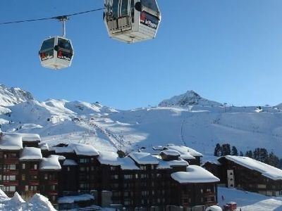 Photo for Apartment La Plagne France (Belle Plagne 2050 m)